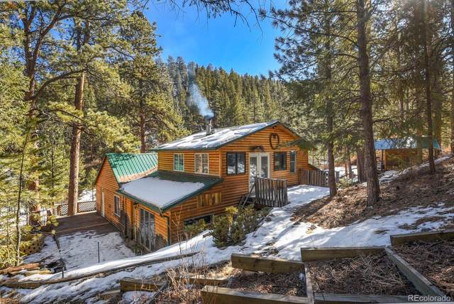 14560 S Elk Creek Road, Pine, CO 80470 (#5909967) :: The Colorado Foothills Team | Berkshire Hathaway Elevated Living Real Estate