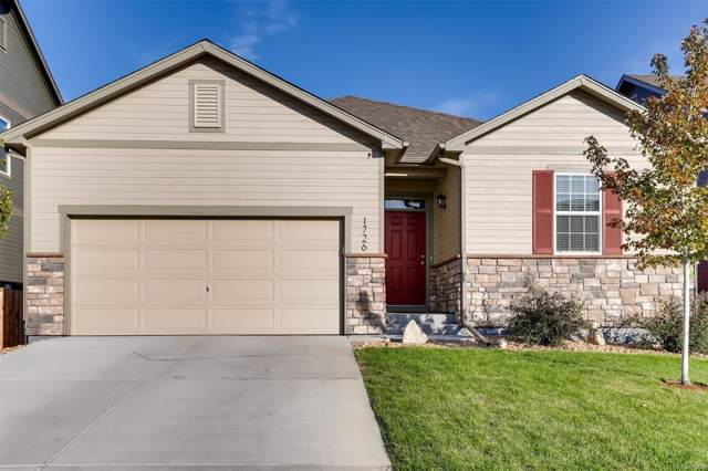1726 Homestead Drive, Fort Lupton, CO 80621 (#5915142) :: The DeGrood Team