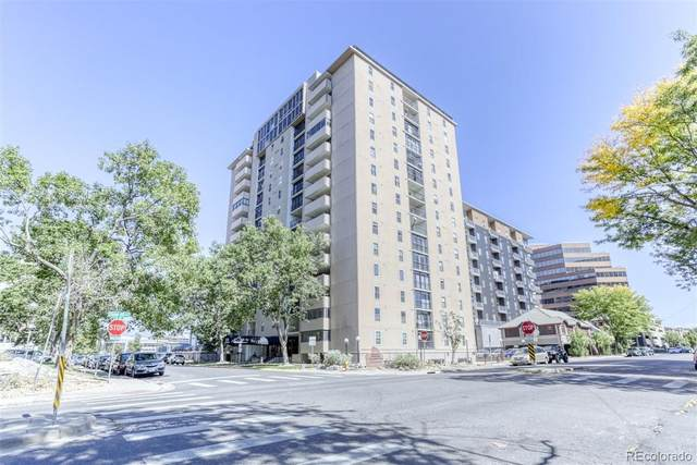 2 Adams Street #708, Denver, CO 80206 (#5946897) :: Kimberly Austin Properties