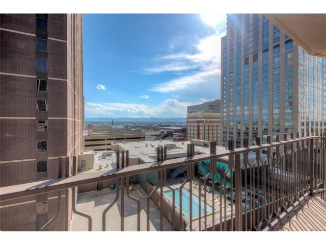 1020 15th Street 10L, Denver, CO 80202 (#5979313) :: The Peak Properties Group