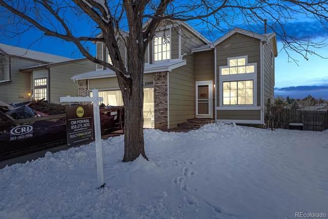 21488 E Crestridge Place, Centennial, CO 80015 (#5987295) :: iHomes Colorado