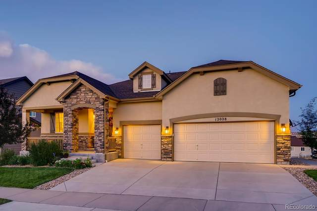 12028 Fontberry Street, Parker, CO 80134 (#6028215) :: The Brokerage Group