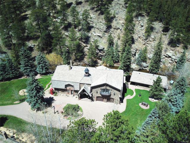 34673 Upper Bear Creek Road, Evergreen, CO 80439 (#6031564) :: The Galo Garrido Group