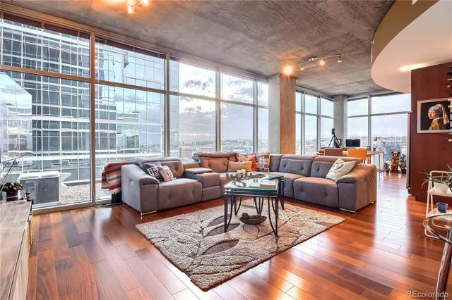 1700 Bassett Street #1018, Denver, CO 80202 (MLS #6032089) :: 8z Real Estate