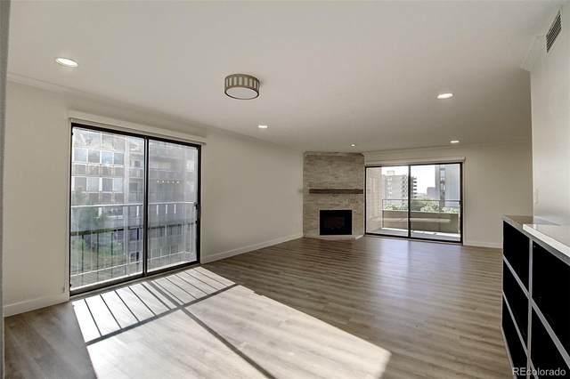 800 Pearl Street #610, Denver, CO 80203 (#6038917) :: The Colorado Foothills Team   Berkshire Hathaway Elevated Living Real Estate