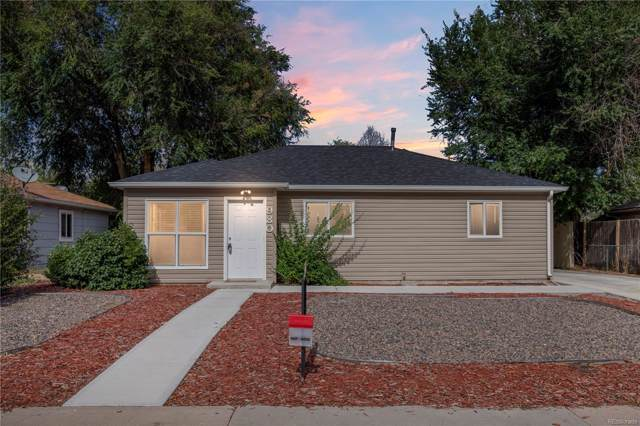 980 Vaughn Street, Aurora, CO 80011 (#6059931) :: The Heyl Group at Keller Williams