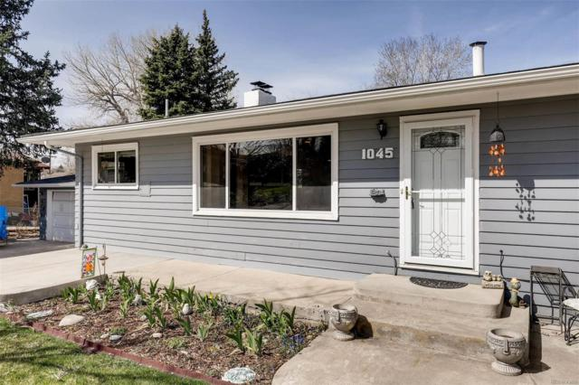 1045 S Dudley Street, Lakewood, CO 80226 (#6064495) :: The DeGrood Team