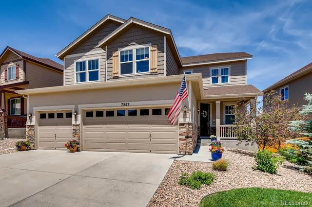 7557 Blue Water Drive, Castle Rock, CO 80108 (#6128793) :: The HomeSmiths Team - Keller Williams
