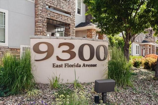 9300 E Florida Avenue #307, Denver, CO 80247 (#6145993) :: Kimberly Austin Properties