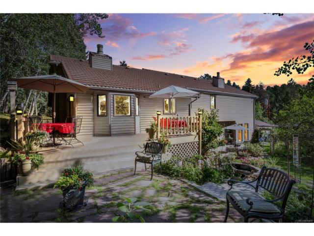7197 Aspen Meadow Drive, Evergreen, CO 80439 (#6160597) :: The Peak Properties Group