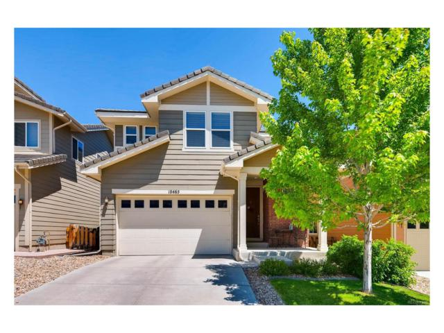 10465 Rutledge Street, Parker, CO 80134 (MLS #6161685) :: 8z Real Estate