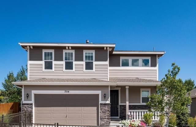 754 Blue Teal Drive, Castle Rock, CO 80104 (#6173555) :: HergGroup Denver