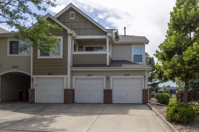 1523 S Danube Way #107, Aurora, CO 80017 (#6173679) :: James Crocker Team