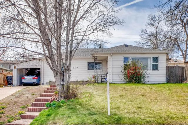 5130 W Gill Place, Denver, CO 80219 (#6207833) :: The Peak Properties Group
