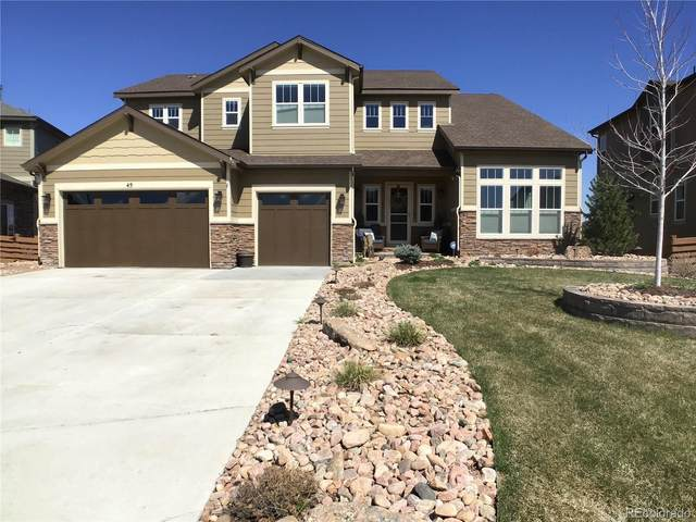 45 Sunshine Circle, Erie, CO 80516 (#6250358) :: The Peak Properties Group