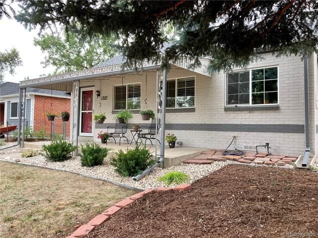 1323 Spruce Street, Denver, CO 80220 (MLS #6257359) :: 8z Real Estate