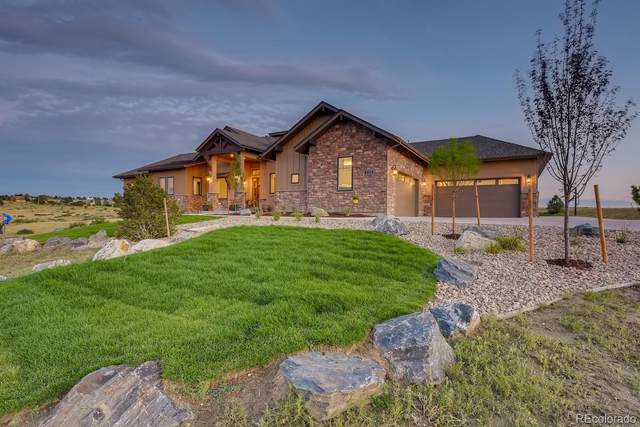 9822 Falcon Roost Point, Parker, CO 80138 (#6277893) :: Peak Properties Group