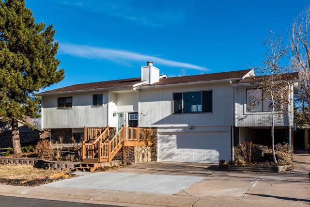 926 Mountain View Drive, Castle Rock, CO 80104 (#6282459) :: The Peak Properties Group