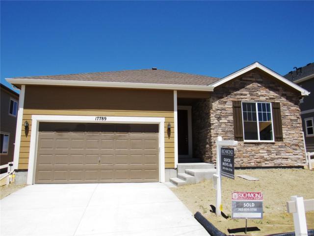 17789 Emilia Drive, Parker, CO 80134 (#6291551) :: The Peak Properties Group