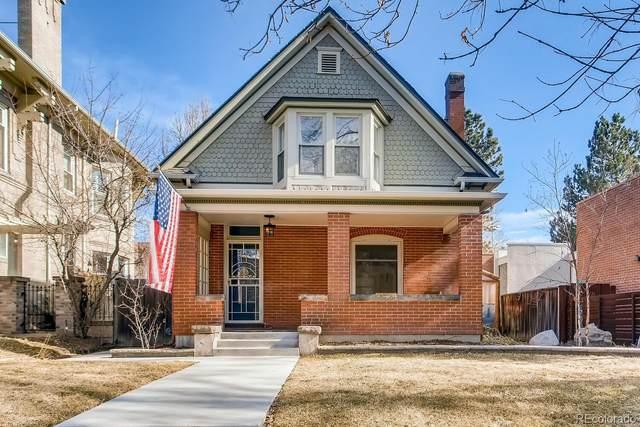774 N Lafayette Street, Denver, CO 80218 (#6310693) :: The Gilbert Group