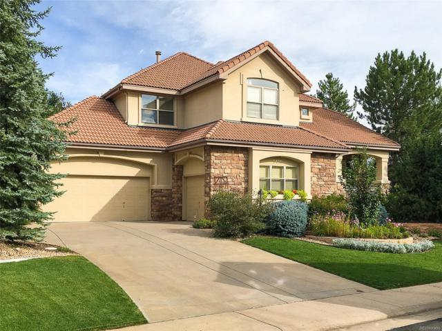 9425 S Shadow Hill Circle, Lone Tree, CO 80124 (#6347969) :: The Peak Properties Group