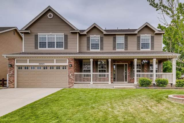 24043 E Winter Springs Place, Parker, CO 80138 (#6350521) :: The HomeSmiths Team - Keller Williams