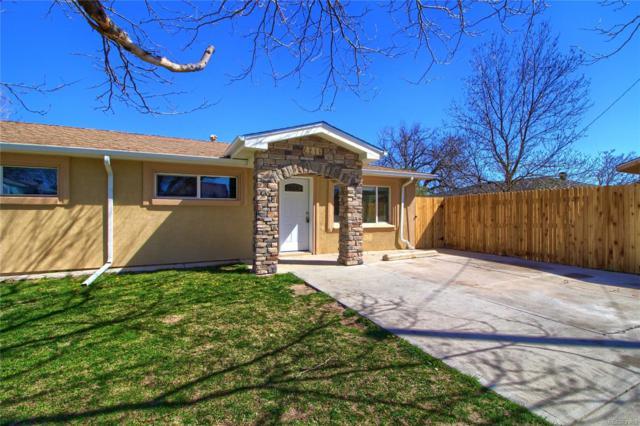 4215 W Ohio Avenue, Denver, CO 80219 (#6359232) :: The Peak Properties Group