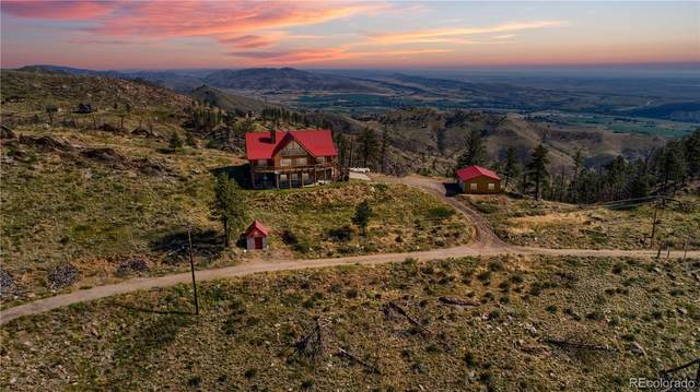1234 Saddle Ridge Road, Bellvue, CO 80512 (#6364428) :: HomeSmart