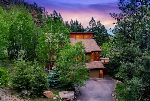 11980 Leon Drive, Conifer, CO 80433 (MLS #6365635) :: 8z Real Estate