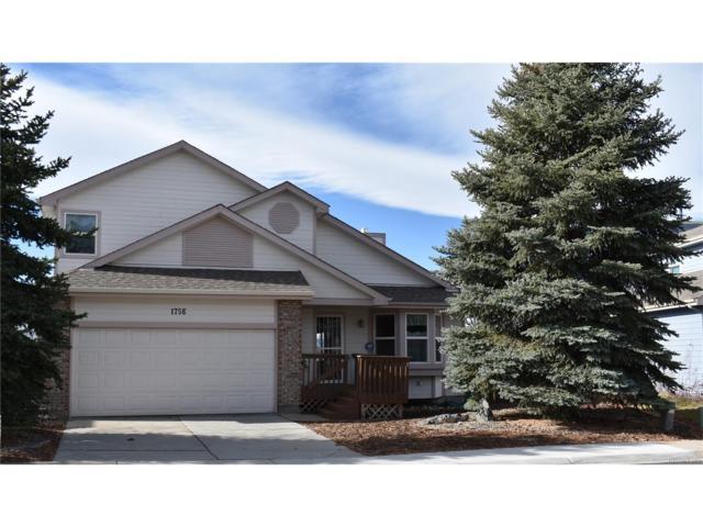 1756 Foxfield Drive, Castle Rock, CO 80104 (#6365951) :: RE/MAX Professionals