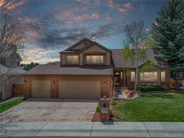 15448 W Ellsworth Drive, Golden, CO 80401 (#6380283) :: The Colorado Foothills Team | Berkshire Hathaway Elevated Living Real Estate