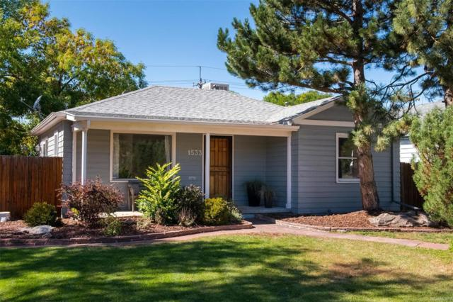 1533 S Jackson Street, Denver, CO 80210 (MLS #6389045) :: 8z Real Estate