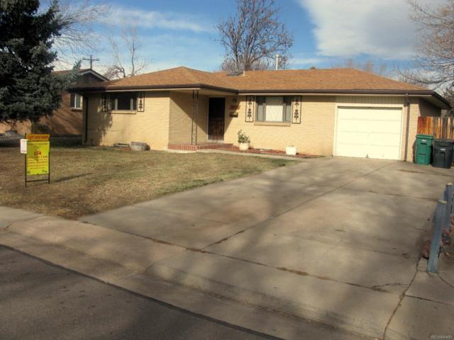 7833 W Iowa Drive, Lakewood, CO 80232 (#6396756) :: The DeGrood Team