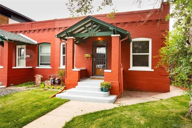 2447 Julian Street, Denver, CO 80211 (MLS #6402679) :: Clare Day with Keller Williams Advantage Realty LLC