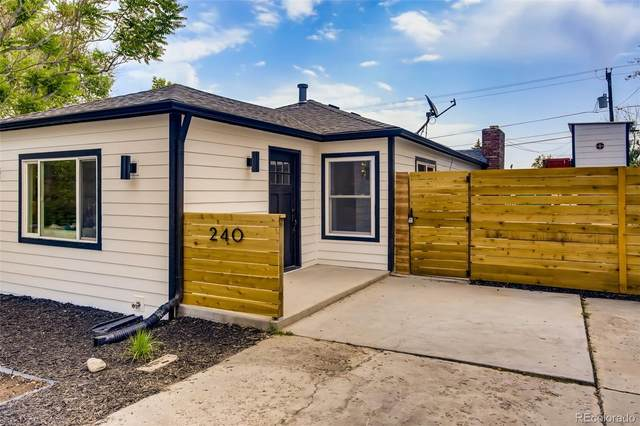 240 S King Street, Denver, CO 80219 (#6433033) :: The DeGrood Team