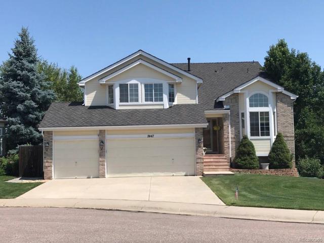 7447 Indian Wells Lane, Lone Tree, CO 80124 (#6450261) :: The Peak Properties Group