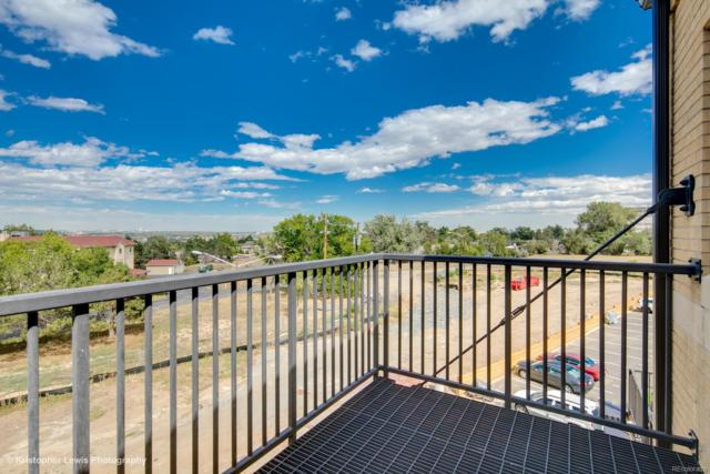 2835 W Parkside Place #309, Denver, CO 80221 (#6550536) :: Sellstate Realty Pros