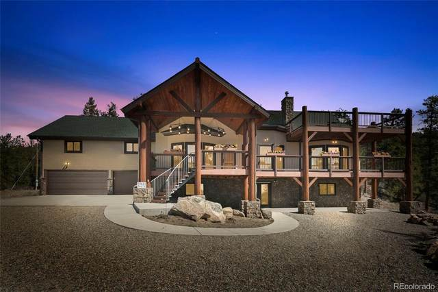 25811 Rampart Lane, Conifer, CO 80433 (MLS #6568936) :: 8z Real Estate