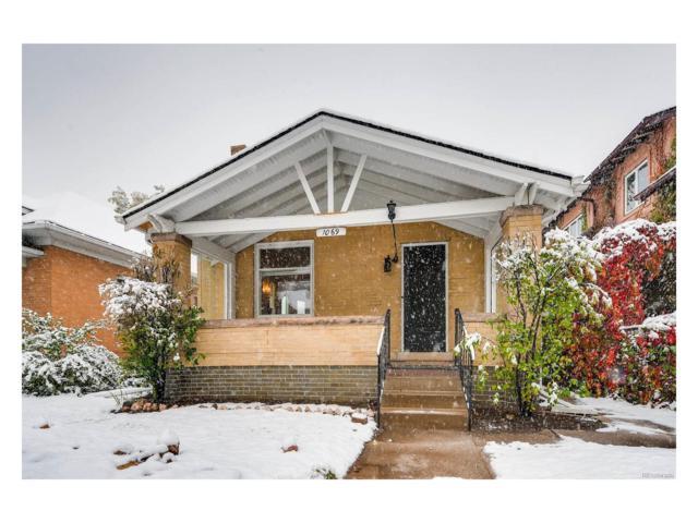 1069 S Ogden Street, Denver, CO 80209 (#6600657) :: Thrive Real Estate Group