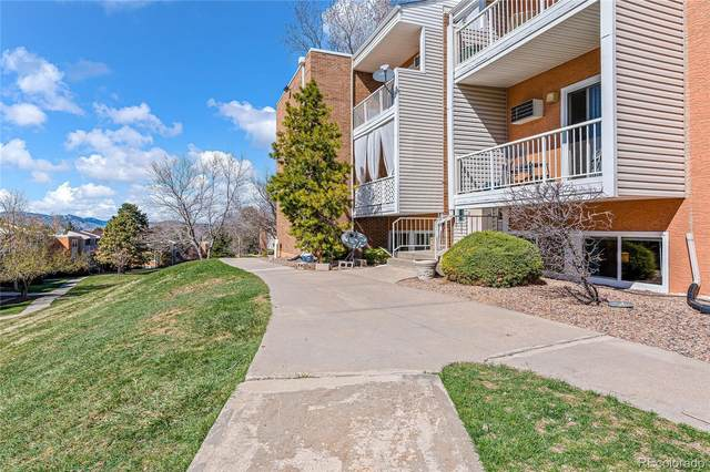 451 Golden Circle #105, Golden, CO 80401 (#6601288) :: Briggs American Properties