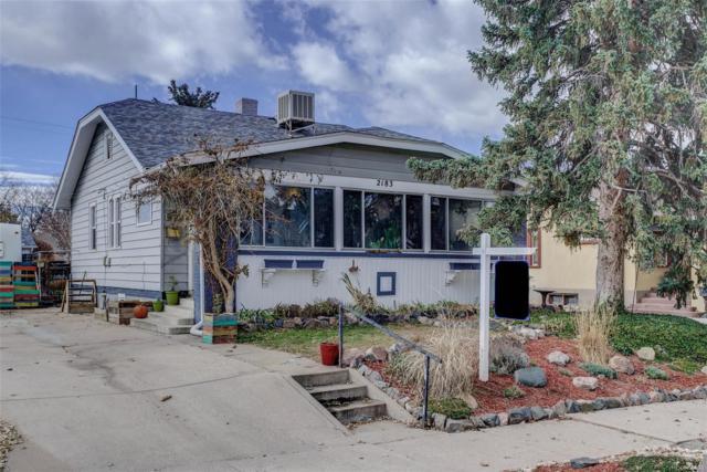 2183 S Corona Street, Denver, CO 80210 (#6603185) :: Sellstate Realty Pros