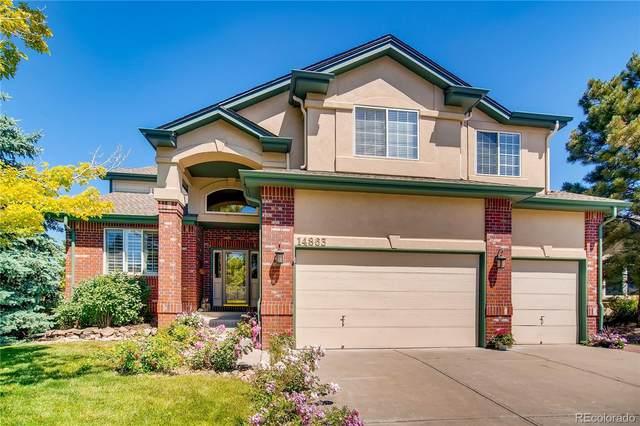 14863 E Lake Place, Centennial, CO 80016 (MLS #6654197) :: 8z Real Estate