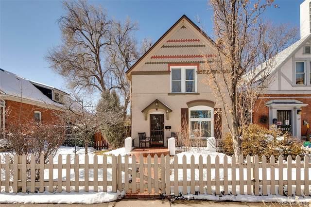 109 S Corona Street, Denver, CO 80209 (#6662722) :: milehimodern