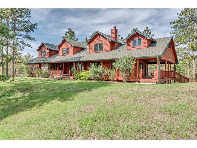 5014 S Perry Park Road, Sedalia, CO 80135 (MLS #6663533) :: 8z Real Estate