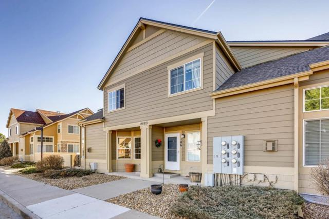 2583 Cutters Circle #101, Castle Rock, CO 80108 (#6748552) :: The Peak Properties Group