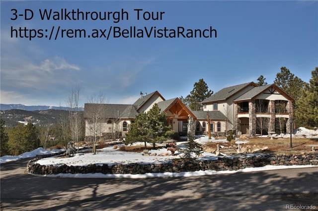 13077 S Noka Trail, Conifer, CO 80470 (#6792740) :: The HomeSmiths Team - Keller Williams