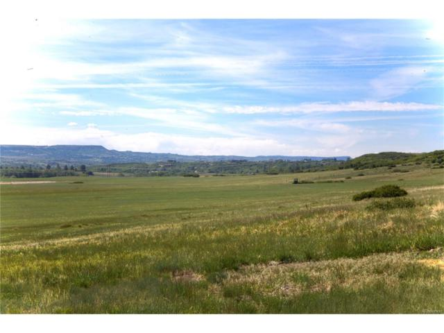 6700 Old Banbury, Lot 4 Lane, Sedalia, CO 80135 (#6795847) :: The DeGrood Team