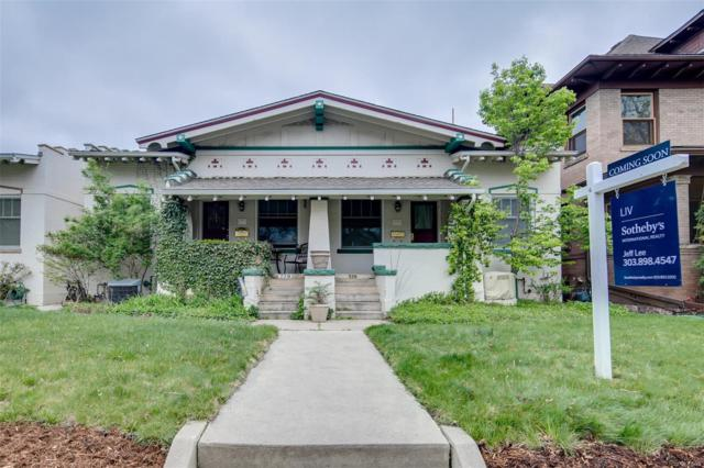 776 N Marion Street, Denver, CO 80218 (#6810116) :: Wisdom Real Estate