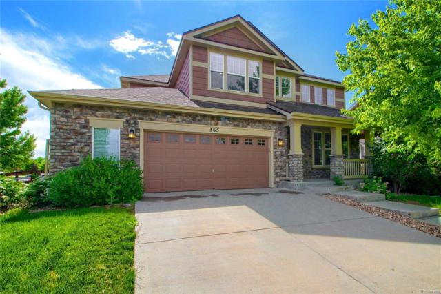365 N Flat Rock Street, Aurora, CO 80018 (#6861401) :: James Crocker Team