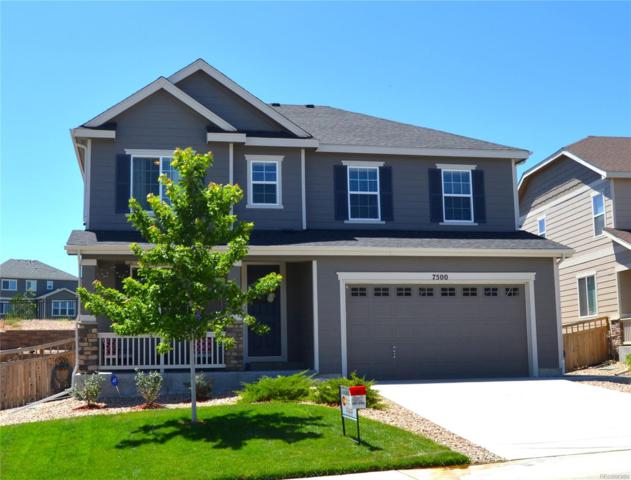 7500 Blue Water Drive, Castle Rock, CO 80108 (#6985667) :: House Hunters Colorado